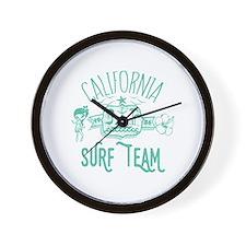 California Surf Team Wall Clock