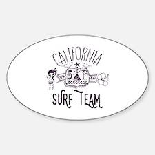 California Surf Team Decal