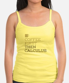 Coffee Then Calculus Tank Top