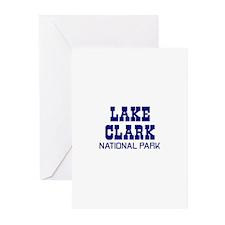 Lake Clark National Park Greeting Cards (Pk of 10)