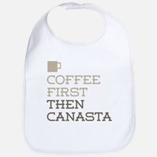 Coffee Then Canasta Bib