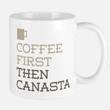 Coffee Then Canasta Mugs