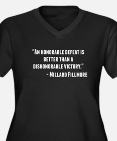 Millard Fillmore Quote Plus Size T-Shirt