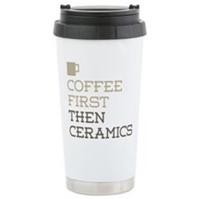 Coffee Then Ceramics Travel Coffee Mug