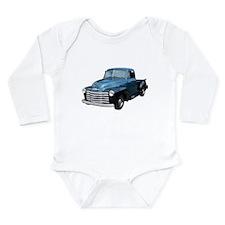 Cute 1953 Long Sleeve Infant Bodysuit