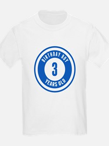 Birthday Boy 3 Years Old T-Shirt