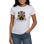 Chauvel Family Crest Women's T-Shirt