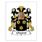 Chauvel Family Crest  Small Poster