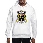 Chauvel Family Crest Hooded Sweatshirt