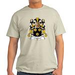 Chauvel Family Crest  Light T-Shirt
