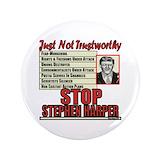 Stop harper Buttons
