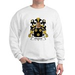 Chauvel Family Crest  Sweatshirt