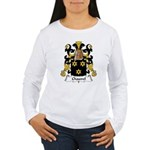 Chauvel Family Crest  Women's Long Sleeve T-Shirt