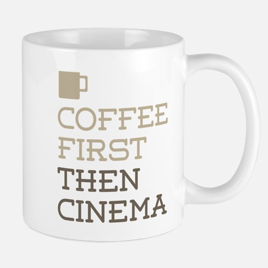 Coffee Then Cinema Mugs