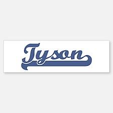 Tyson (sport-blue) Bumper Bumper Bumper Sticker