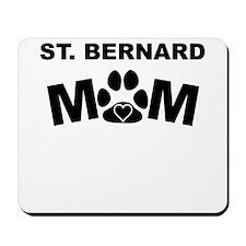 St. Bernard Mom Mousepad