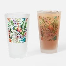 Cute Tropical Drinking Glass