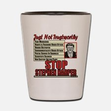 Stop Harper Shot Glass