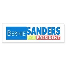 Bernie Sanders for President V4 Bumper Sticker