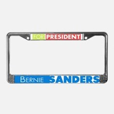 Bernie Sanders for President V License Plate Frame