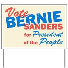 Bernie Sanders for President V5 Yard Sign