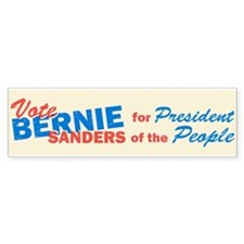 Bernie Sanders for Presiden Bumper Sticker