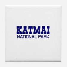 Katmai National Park Tile Coaster