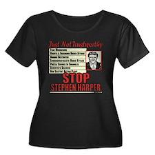 Stop Harper Plus Size T-Shirt