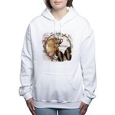 Butterfly and urn Women's Hooded Sweatshirt