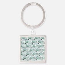 Manatees and Dugongs Swimming Keychains