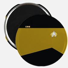 "Star Trek: TNG Gold Lt. Cmd 2.25"" Magnet (10 pack)"