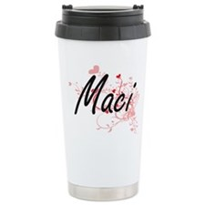 Maci Artistic Name Desi Travel Mug