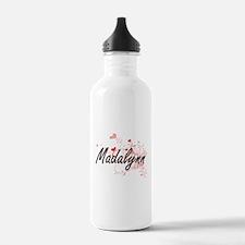 Madalynn Artistic Name Water Bottle