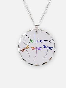 Believe...dragonflies Necklace