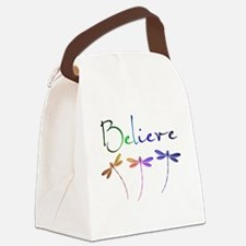 Believe...dragonflies Canvas Lunch Bag
