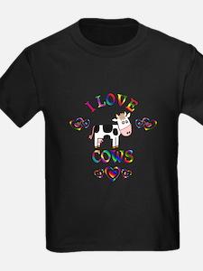 I Love Cows T