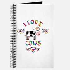 I Love Cows Journal