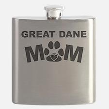Great Dane Mom Flask