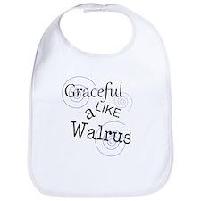 Cute Walrus Bib