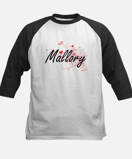 Mallory Artistic Name Design with Baseball Jersey