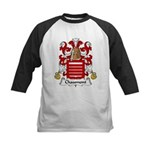 Chaumont Family Crest  Kids Baseball Jersey