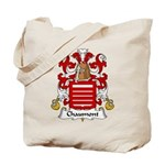 Chaumont Family Crest  Tote Bag