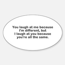 I Am Different Decal