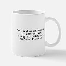 I Am Different Mugs