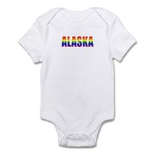 Alaska Gay Pride Infant Bodysuit