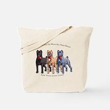 Cute Cane corsos Tote Bag