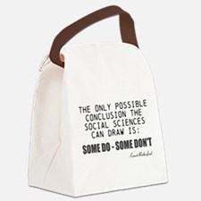 Only Conclusion Canvas Lunch Bag