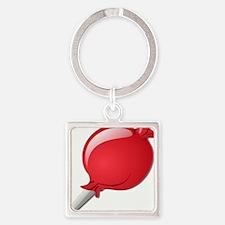 Lollipop Red Keychains