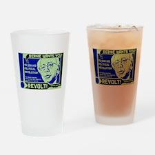 Bernie Sanders Revolution Drinking Glass