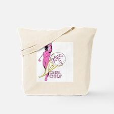 Girl Golf Tote Bag